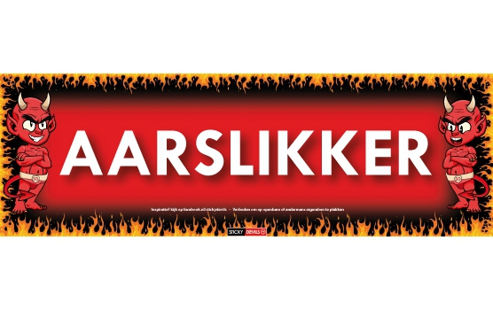 Aarslikker Sticky Devil sticker