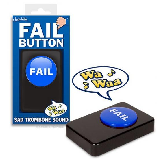 Fun button met afgang geluid