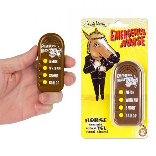 Fun button met paarden geluiden