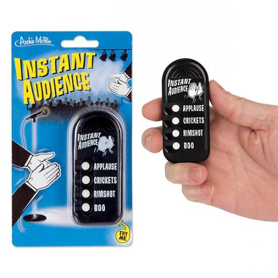 Fun button met publiek geluiden