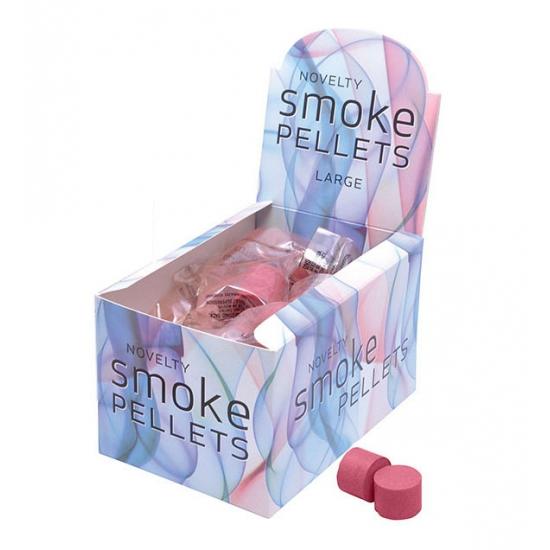 Fun rook bommetjes rood