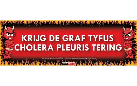 Graf Tyfus Sticky Devil sticker